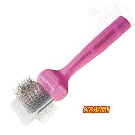 【正規品】ファームフィニッシュブラシ シングル 小型犬 ActiVet Finish Brushes Purple Firm single
