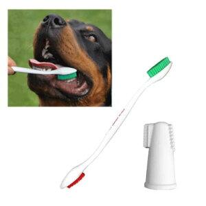 ペット用歯ブラシ コンポ デンタブラシDX 中、大型犬用