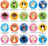 LOVE I got this-magnet pet stickers (125 mm diameter) [Enter name] 10P13oct13_b