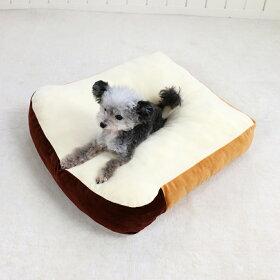 ペットパラダイスなりきりペッツ食パン型クッション