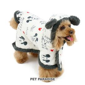 ペットパラダイス ディズニー ミッキーマウス モコモコ 着る毛布【小型犬】 | 超小型犬 小型犬 暖かい あったか 保温 防寒 室内 犬の服 ドッグ いぬ イヌ ドック 犬服 犬用品 ペット用品