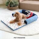 【2月限定送料無料】ペットパラダイス ディズニー ミッキーマウス クラブ総柄 ソファ ベッドカドラー | 犬 ベット 布…