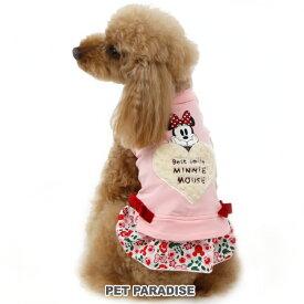 ディズニー ミニーマウス 花柄トレーナー 【小型犬】 | キャラクター メール便可