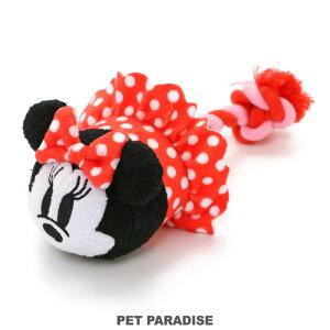 犬 おもちゃ ロープ ディズニー ミニーマウス ぽて| 音が鳴る ぬいぐるみ ボール ロープ オモチャ 玩具 小型犬 おもちゃ 猫 かわいい おもしろ インスタ映え キャラクター
