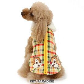 ディズニー チップとデール チェック 背開き ベスト 【小型犬】 | ドッグウエア ドッグウエア いぬ イヌ おしゃれ かわいい