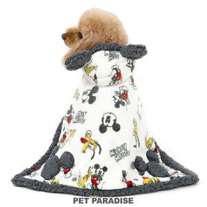 【クーポン利用で300円OFF】犬 服 秋冬 ディズニー ミッキーマウス 着る毛布 【小型犬】 手書き風 | ドッグウエア ドッグウェア いぬ イヌ おしゃれ かわいい キャラクター