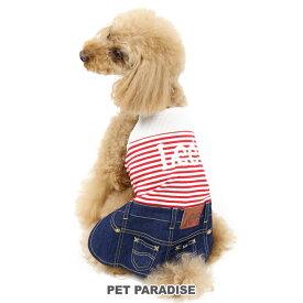 ペットパラダイス Lee キャミソール イン スカートつなぎ【小型犬】 | 犬服 犬の服 犬 服 ペットウエア ペットウェア ドッグウェア ベビー 超小型犬 小型犬
