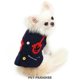 リサとガスパール 背開き 手袋ベスト 紺【小型犬】 | ドッグウエア ドッグウエア いぬ イヌ おしゃれ かわいい