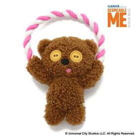 ペットパラダイス ミニオン ティム ロープ おもちゃ トイ | 犬用品 オモチャ トイ 音が鳴るドッグ いぬ イヌ ドック 犬用品 ペット用品 おしゃれ かわいい キャラクター