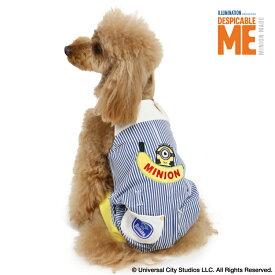 【クーポン利用で300円OFF】【ポイント10倍】ミニオン バナナ オーバーオール【小型犬】   おしゃれ Minion SNS インスタ映え かわいい メール便可