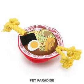 ペットパラダイス ラーメン おもちゃ | 犬用品 おもちゃ オモチャ トイ トイ ロープ 音が鳴る