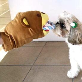ペットパラダイス くまパペットおもちゃ | 犬用品 おもちゃ オモチャ トイ