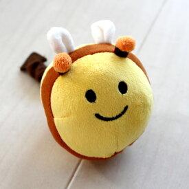 ハチさんカラカラぶんぶんおもちゃ【大】 | おうちで遊ぼう おうち時間 犬 おもちゃ オモチャ ペットのおもちゃ ペットトイ 玩具 TOY 小型犬 かわいい おもしろ インスタ映え