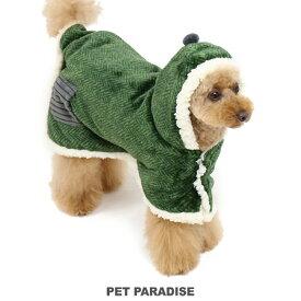【11000円以上で10%OFFクーポン対象】ペットパラダイス カーキ 着る毛布 【小型犬】 | 超小型犬 小型犬 暖かい あったか 保温 防寒 室内 犬の服 ドッグ いぬ イヌ ドック 犬服 犬用品 ペット用品