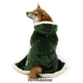 【11000円以上で10%OFFクーポン対象】ペットパラダイス カーキ 着る毛布【中・大型犬】 | 中型犬 大型犬 暖かい あったか 保温 防寒 室内 犬の服 ドッグ いぬ イヌ ドック 犬服 犬用品 ペット用品