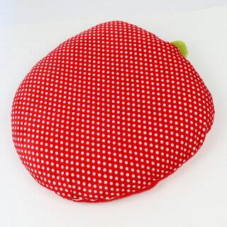 ペットパラダイス【ネット店限定商品】野いちご型ふわふわでかクッション(92×90cm)