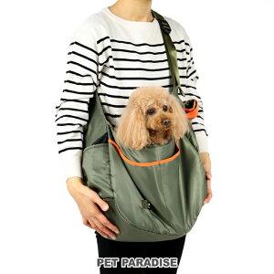 【月間限定送料無料】カーキ ショルダーキャリーバッグ【小型犬】 | ショルダー おしゃれ かわいい 猫