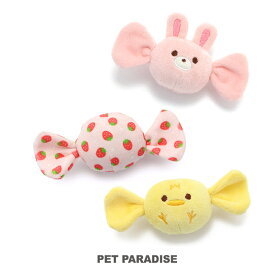 キャンディ トイ | 音が鳴る ぬいぐるみ ボール ロープ オモチャ 玩具 トイ TOY 小型犬 猫 かわいい おもしろ インスタ映え
