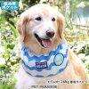 クールバンダナ【中・大型犬】波線柄ネッククーラー