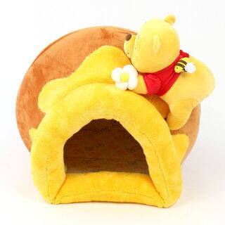 ペットパラダイスディズニーくまのプーさんハニーポットハウス|犬ハウスおしゃれ室内犬ベッドドームハウス犬ベッドペットベットカドラーベットドッグソファドーム型ペットベットカドラーベット
