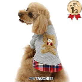 SALE ペットパラダイス くまさん トレーナー【小型犬】 | 犬の服 ドッグ いぬ イヌ ドック 犬服 犬用品 ペット用品 クマ 熊 ベビー 超小型犬 小型犬 セール 【返品交換不可】