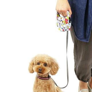 ペットパラダイススヌーピーフリーゴ散歩用伸縮リード(小型犬用)[犬リード伸縮3m伸縮リード]
