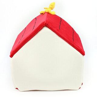 ★ランキング1位入賞★【送料無料】ペットパラダイススヌーピーお庭付き赤い屋根のハウス【大】|犬ハウスおしゃれ室内犬ベッドドームハウス犬ベッドペットベットカドラーベットドッグソファドーム型