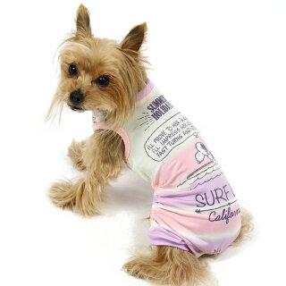 ペットパラダイススヌーピークール接触冷感サーフロンパース【小型犬】|つなぎ犬服犬の服犬服ペットウエアペットウェアドッグウェアひんやり防虫