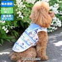 ペットパラダイス スヌーピー 保冷剤付き ポケット クール タンクトップ 【小型犬】 | メール便可 PEANUTS ピーナッツ…