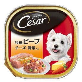 マース シーザー トレイ 吟撰ビーフ チーズ・野菜入り 100g