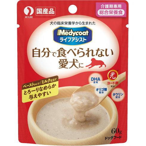 ペットライン メディコート ライフアシスト ペーストタイプ ミルク仕立て 60g