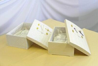 ペット用棺高級布張棺・桐張棺(中)