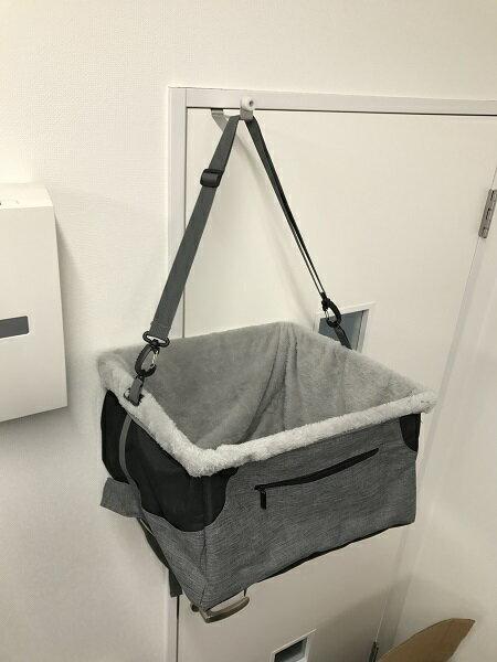 ペット用ドライブボックス 小型犬用 ドッグ 汚れ防止 防水加工 座席 ドライブ 車用 移動 カー用品 カーシート シートカバー 汚れに強い防水シート 取り付け簡単