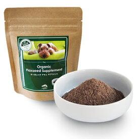 made of Organics for Dog オーガニック フラックスシード サプリメント(粉タイプ) 100g 4528636803384【ポイント0604】