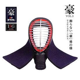 剣道 ミツボシ 豪 6mm具の目刺 面 単品 M-05501