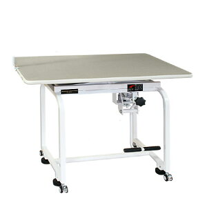 【代引不可】油圧式トリミングテーブル X-900 天板グレー