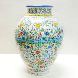 ■スペイン陶器■トレド花瓶 フラワーダンス