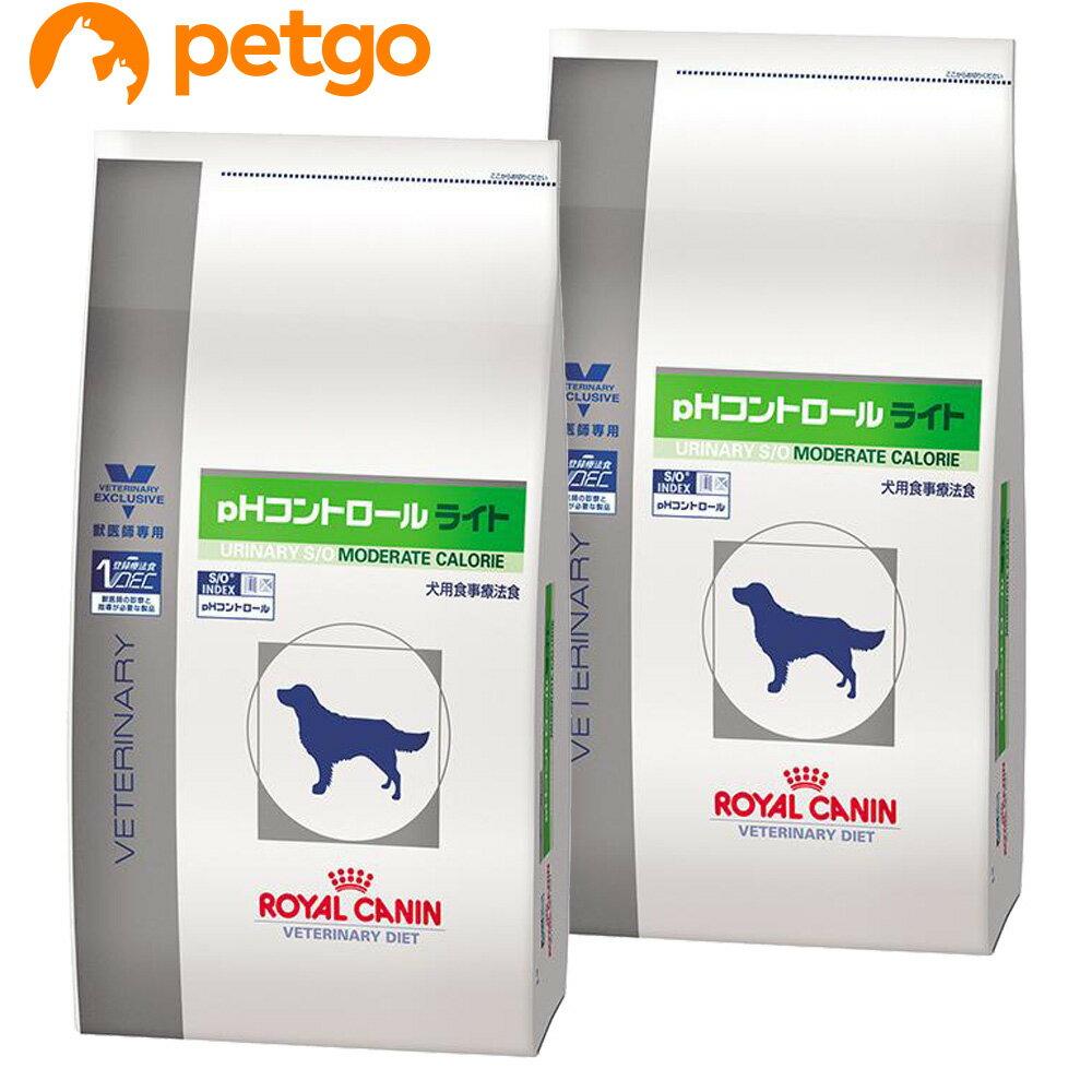 【最大350円オフクーポン】ロイヤルカナン 食事療法食 犬用 pHコントロール ライト 8kg×2袋【あす楽】