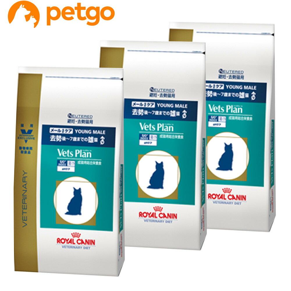 【3袋セット】ロイヤルカナン ベッツプラン 猫用 メールケア 4kg【あす楽】