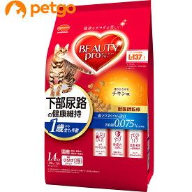 【最大350円OFFクーポン】ビューティープロ キャット 猫下部尿路の健康維持 1歳から チキン味 1.4kg【あす楽】