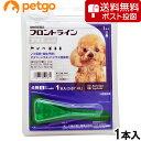 【最大1600円OFFクーポン】【ネコポス(同梱不可)】犬用フロントラインプラスドッグS 5〜10kg 1本(1ピペット)(動物…