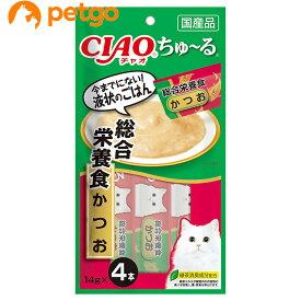 CIAO(チャオ) ちゅ〜る 総合栄養食 かつお 4本入り【あす楽】