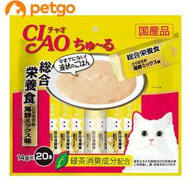 CIAO(チャオ) ちゅ〜る 総合栄養食 とりささみ海鮮ミックス味 20本入り【あす楽】