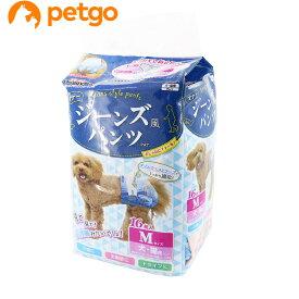 【最大350円OFFクーポン】ドギーマン ジーンズ風パンツ M 16枚