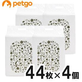 ペットゴー 炭でニオイを吸着する超厚型シーツ ワイド 44枚×4個【まとめ買い】【あす楽】