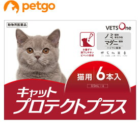 【最大450円OFFクーポン】ベッツワン キャットプロテクトプラス 猫用 6本 (動物用医薬品)【あす楽】