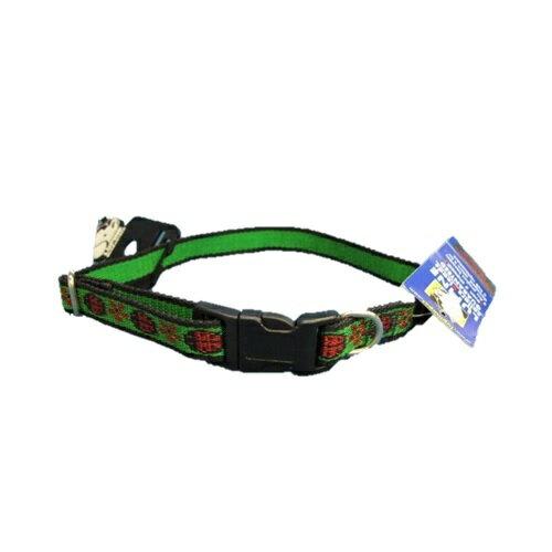 犬用首輪 ルーパイン カラーS 緑七星 LB