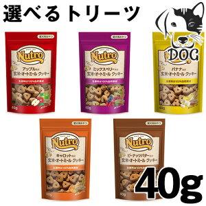 ニュートロ 犬用おやつ 玄米・オートミールクッキー 40g 選べるトリーツ (アップル・ミックスベリー・ピーナッツバター・キャロット・バナナ)