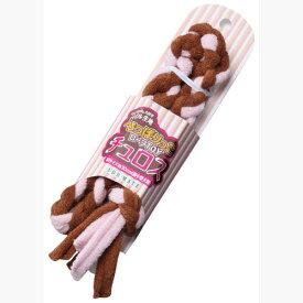アドメイト ロープTOY チュロス ストロベリー SS 犬用おもちゃ コットン 超小型犬 短毛犬 長毛犬 引っ張って楽しく遊べる 柔らかいパイル生地使用 引っ張って楽しく遊べる! Add.mate