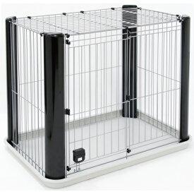 アドメイト ヴィラフォートサークル ゲージ ケージ スモール 屋根付き 犬用 サークル 室内 金属 犬 シックなカラーとデザインがスタイリッシュな空間を演出! Add.mate